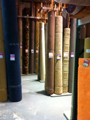 We have hundreds of first quality carpet remnants.  Discount carpet remnants can be found in wool, berber, plush, and patterned carpet.