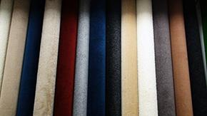 Any color. Any size.  Bound carpet area rugs.