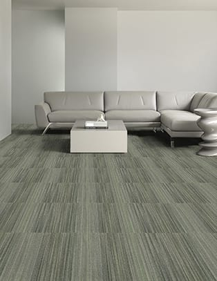 Monolithic Carpet Tile.