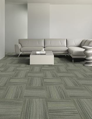Quarter Turn Carpet Tile.