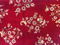 Another Persian Design. Red Sarouk carpet.