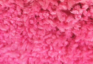 Baby Ducky rug in bright pink.