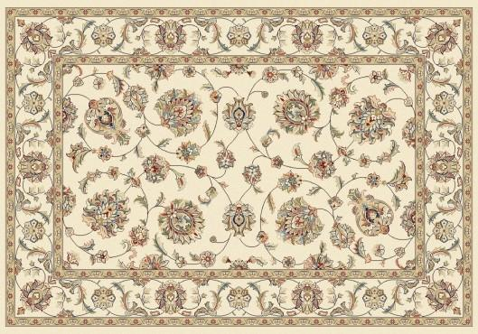 Elegance rug in color ivory.
