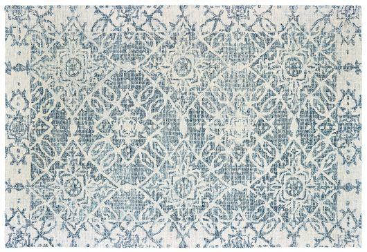 Portico rug in blue.